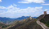 Great Wall In Simatai Mountain