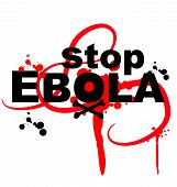 Ebola Virus Design On White Background