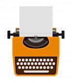 typewriter icon - design element