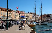 Saint Tropez - Architecture Of City In The Port