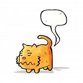 picture of fart  - cartoon farting cat - JPG