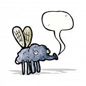 gross fly cartoon