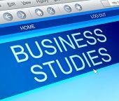Business Studies Concept.