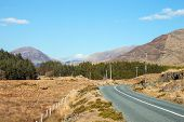 Inagh Valley road