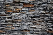 Old Brick Wall From A Stone