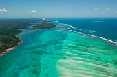 stock photo of mary  - Highly detailed image of Aerial view of Sainte Marie island Madagascar - JPG