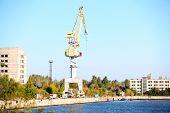 Industrial shipyard