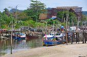 Malaysian Fishing Village
