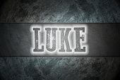 picture of biblical  - Luke Concept text on background biblical idea - JPG