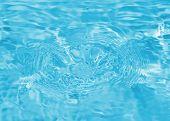 Drop of fresh water