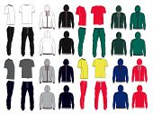 Set Of Men's Sport Clothes