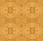 Maple bird's eye wood design