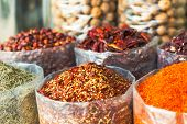 Spices And Herbs Souk In Dubai