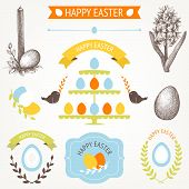 hand drawn Easter illustrations