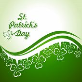 Vector Illustration of Saint Patricks Day Design