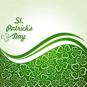 stock photo of saint patrick  - Vector Illustration of Saint Patricks Day Design - JPG