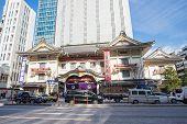 The Kabuki-za Theater in Tokyo, Japan
