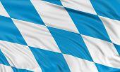 3D Bavaria  Flag