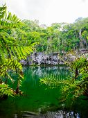 image of cenote  - Cenote of Santo Domingo in Dominican Republic - JPG