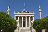 The Academy of Athens at Athens city, Greece