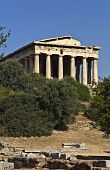Temple of Hephaestus at ancient agora of Athens, Greece