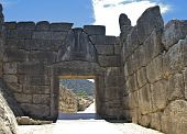 stock photo of argo  - Ancient Mycenae - JPG