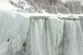 American Falls, Niagara, Frozen In Winter