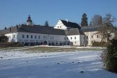 Castle Velke Losiny In Winter (czech Republic)