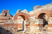 Ruins Of The Wall Around The Nessebar Town, Bulgaria