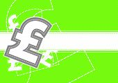 Pound Money Icon Background Design