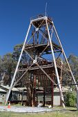 pic of gold mine  - A historic gold mine in Chewton - JPG