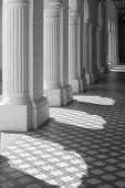Lights and Shades on Corridor Ground