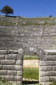 Greek ancient theater of Dodoni