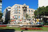 Fish fountain, Almeria.