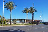 Railtrack jetty, Almeria.