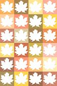Template Of Maple Leaves