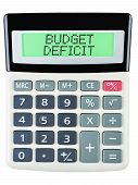 Calculator With Budget Deficit