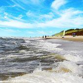 Sunny Day At Sea Shore