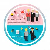 image of partnership  - Concept for business meeting - JPG