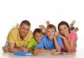 Parents help children
