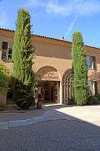 Vineyard Chateau Sainte Roseline In Provence