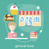 Sweet store concept
