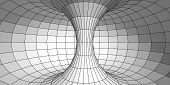 Three-dimensional model of torus with polygons