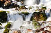 picture of waterfalls  - Mountain stream - JPG