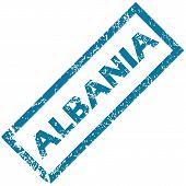 Albania rubber stamp