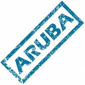 Aruba rubber stamp