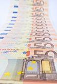 Series euro bills