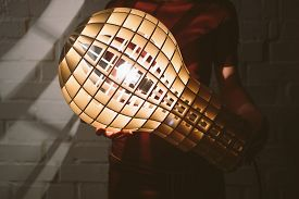 foto of lamp shade  - Hanging - JPG