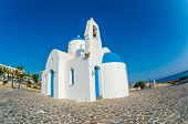 foto of saint-nicolas  - St. Nicolas orthodox church in Protaras Cyprus. ** Note: Visible grain at 100%, best at smaller sizes - JPG