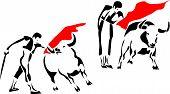 image of bullfighting  - bullfighting  - JPG